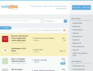 engineeringjobs.net.au screenshot