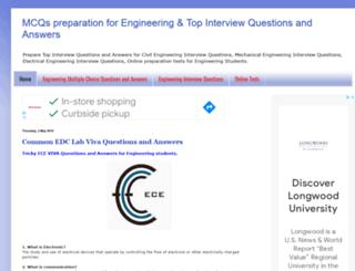 engineeringmcqs.blogspot.com.ng screenshot