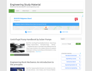 engineeringstudymaterial.net screenshot