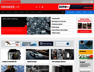 engineerlive.com screenshot