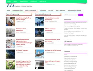 engineersnetwork.org screenshot