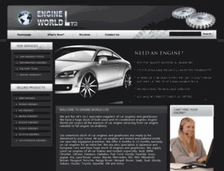 engineworldltd.co.uk screenshot