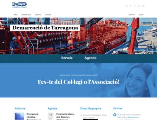 enginyerstarragona.com screenshot
