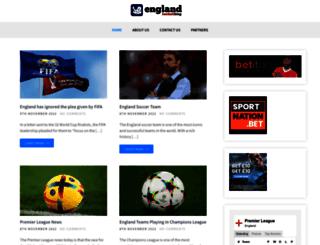 englandfootballblog.com screenshot