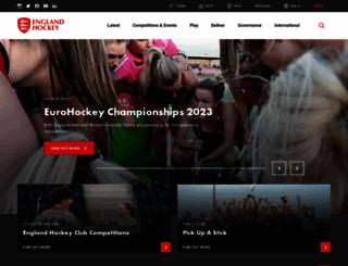 englandhockey.co.uk screenshot