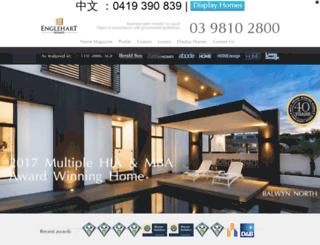 engleharthomes.com.au screenshot