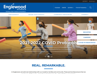 englewoodschools.org screenshot