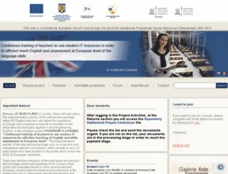 engleza-fse.edu.ro screenshot