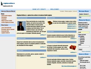 engleza-online.ro screenshot