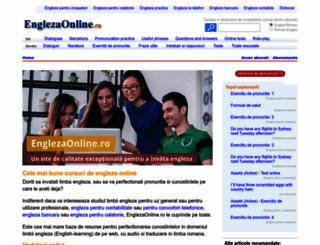 englezaonline.ro screenshot