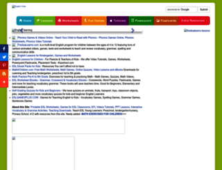 english-4kids.com screenshot