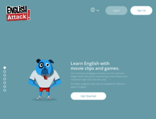english-attack.com screenshot