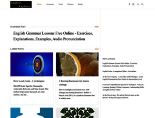 english-audio-conversations.blogspot.ro screenshot