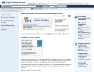 english-book-service.de screenshot