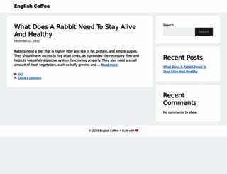 english-coffee.com screenshot