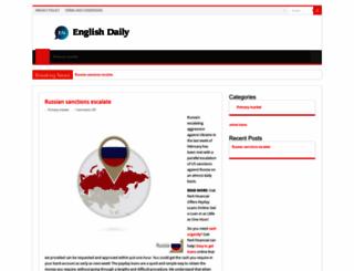 english-daily.com screenshot