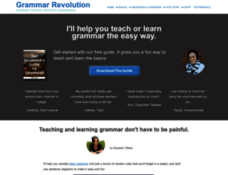 english-grammar-revolution.com screenshot