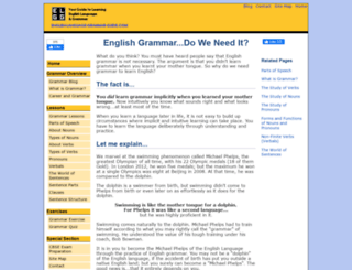 english-language-grammar-guide.com screenshot