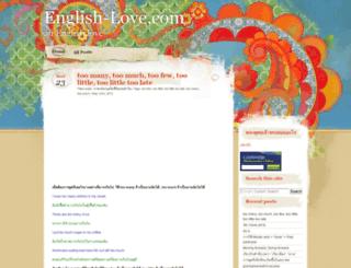 english-love.com screenshot
