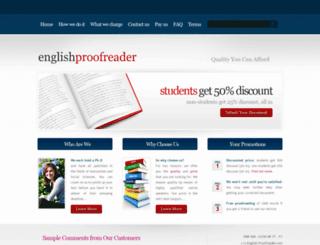 english-proofreader.com screenshot