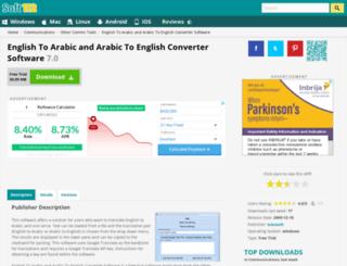 english-to-arabic-and-arabic-to-english-converter-software.soft112.com screenshot