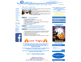 english-to-go.com screenshot