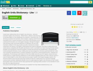 english-urdu-dictionary-lite.soft112.com screenshot
