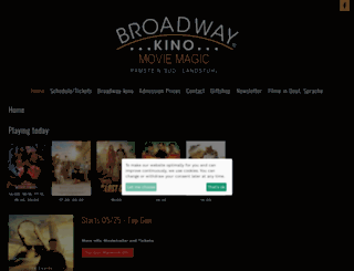 english.broadwaykino.com screenshot