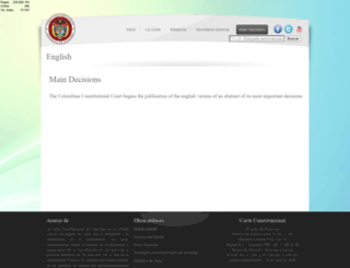 english.corteconstitucional.gov.co screenshot