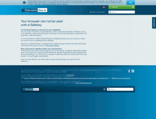english.danskebank.dk screenshot