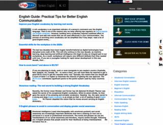 english.eagetutor.com screenshot