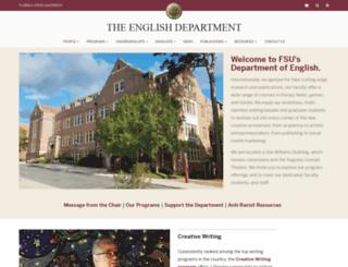 english.fsu.edu screenshot