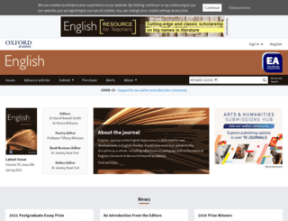 english.oxfordjournals.org screenshot