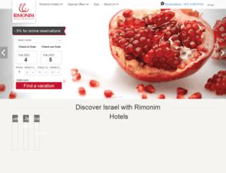 english.rimonim.com screenshot