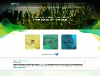 english.unica.com.br screenshot