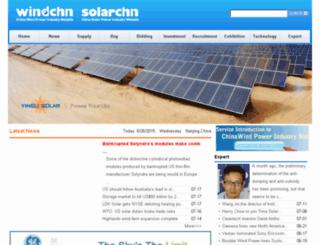 english.windchn.com screenshot