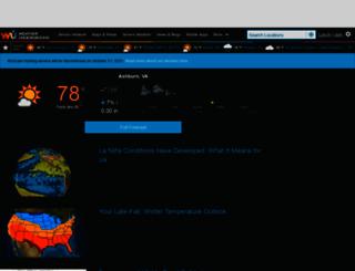 english.wunderground.com screenshot