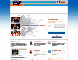 englishbaby.com screenshot