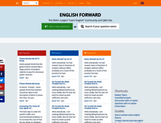 englishforums.com screenshot