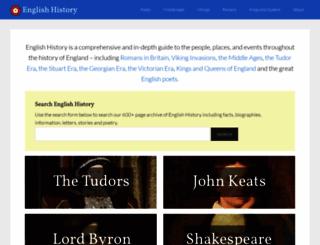 englishhistory.net screenshot