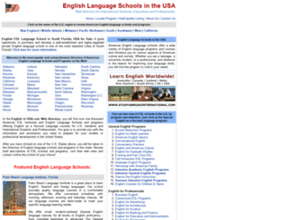 englishinusa.com screenshot