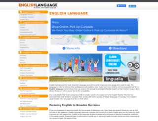 englishlanguageguide.com screenshot