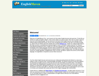 englishmaven.org screenshot