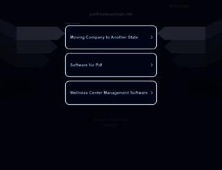 englishmovie.justfreedownload.info screenshot