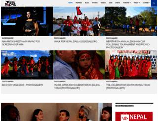 englishnepalidictionary.com screenshot