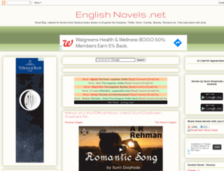 englishnovels.net screenshot