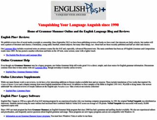 englishplus.com screenshot