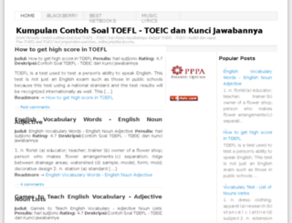 englishpracticetest.blogspot.co.uk screenshot