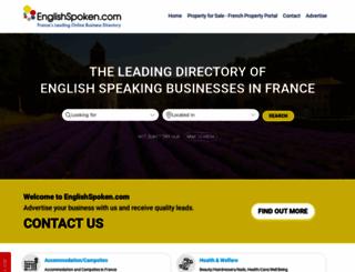 englishspoken.info screenshot
