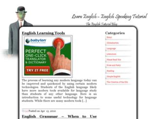englishsubject.net screenshot